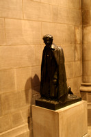 Lincoln at Prayer - National Cathedral