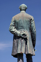 """Lincoln the Emancipator"" in Clermont, Iowa by George Edwin Bissell"