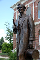 Lincoln in Marshall, Illinois by Bill Wolfe